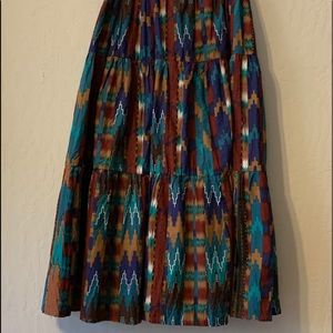 Southwest colored skirt